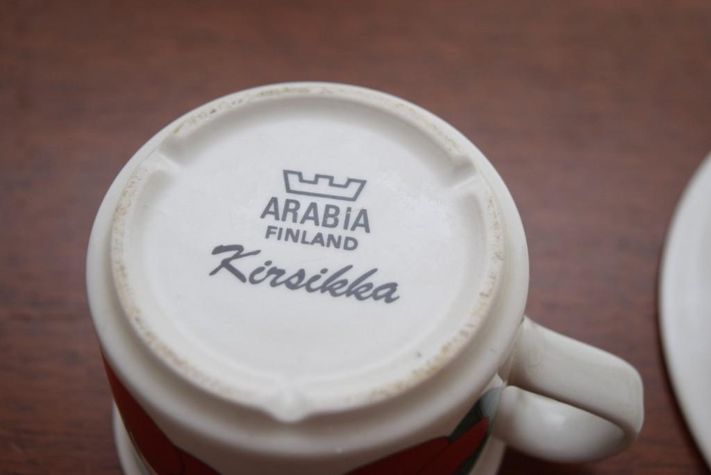 アラビア,キルシッカ,さくらんぼ,kirsikka