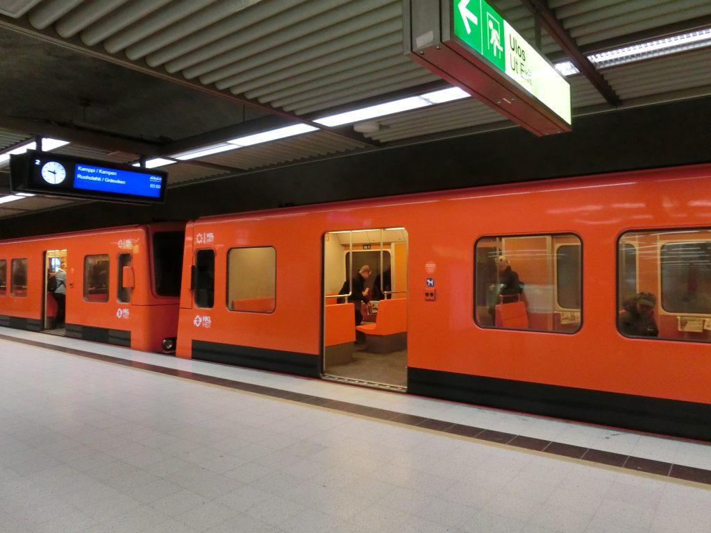 地下鉄,ヘルシンキ